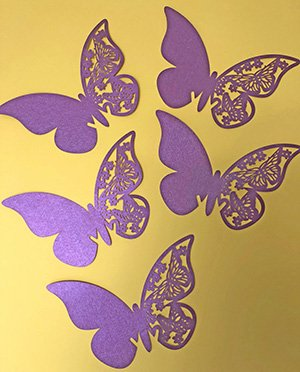 Virtual Hospice Purple Butterfly Emblem