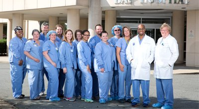 UNC Rockingham Surgical Services team