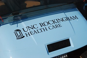 UNC Rockingham security golf cart