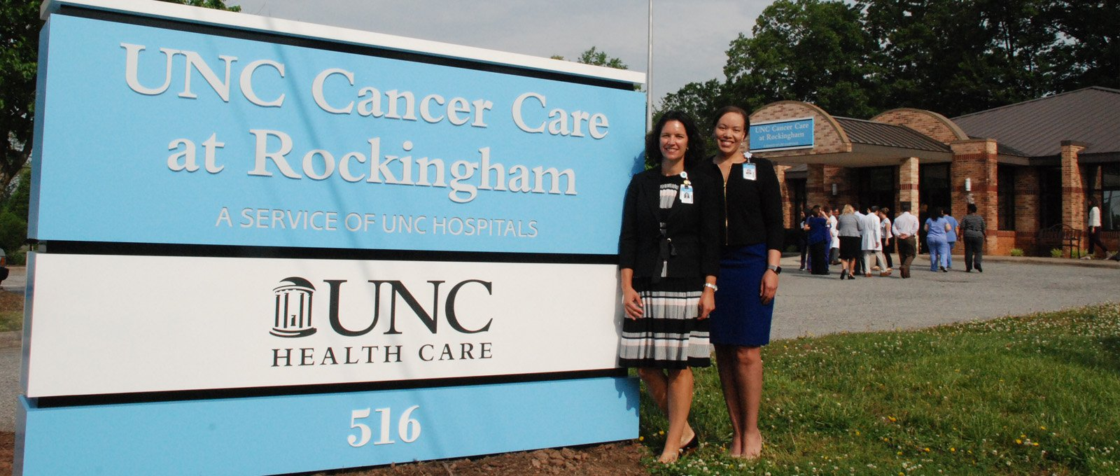 UNC Cancer Care at Rockingham building